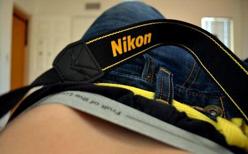 aww, freaking hot ;$$♥ but look, it's NIKON. ;*