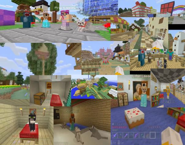 stampy collage