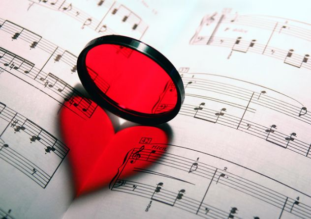 love+music=perfect melody
