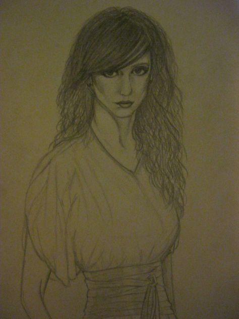 Jennifer Love Hewitt... Made by me..                                                       P.s. mau slaba slika..