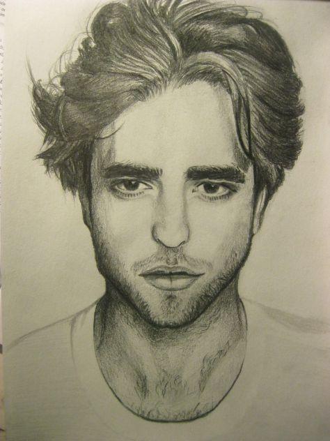 Robert Pattinson by me :))
