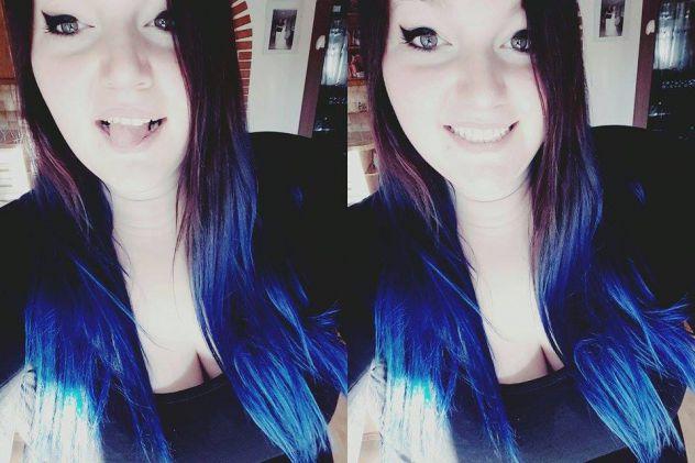 Black, black, black and blue, beat me 'til I'm numb.