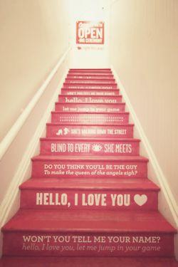 Hello,I love you won't you tell me your name ♥ ;* Cory to najlepš poje ♥ :3