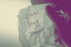 Stay strong < 33