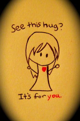 hug.?