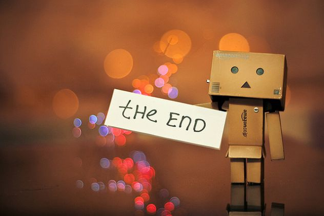the end...