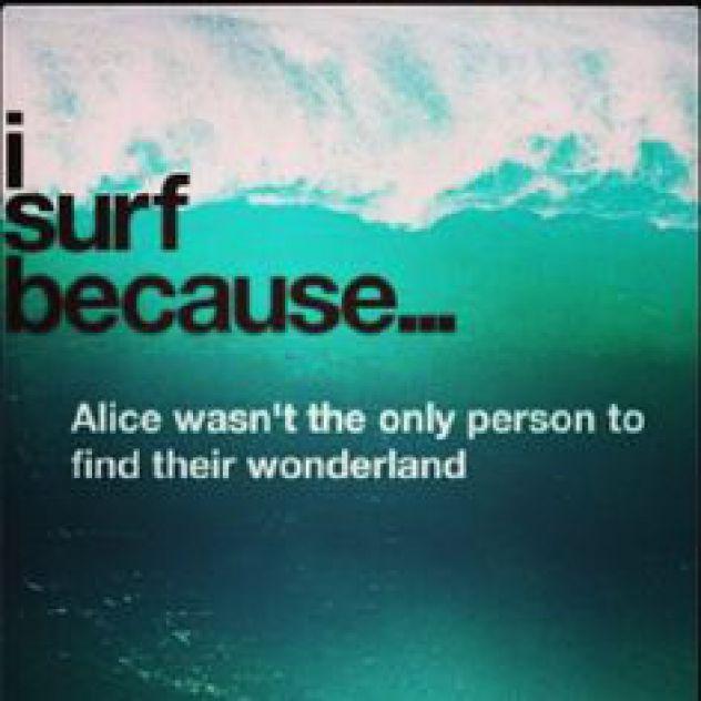 ...just surf...