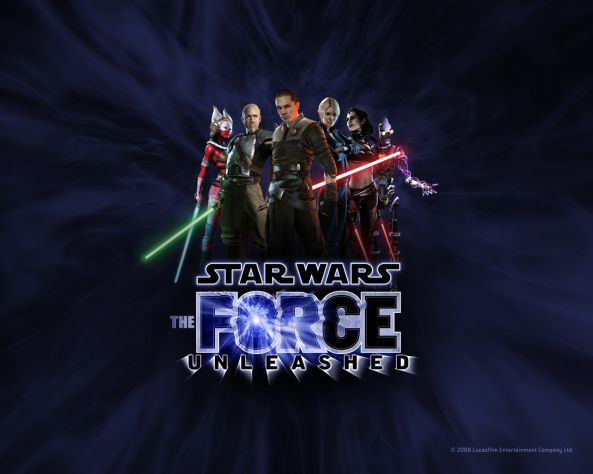 Star wars the FORCE unleashed 1 :D