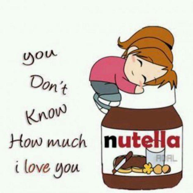 Nutella* I love u