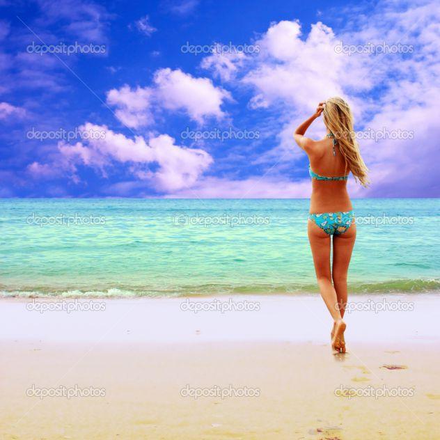 Jaz na plaži