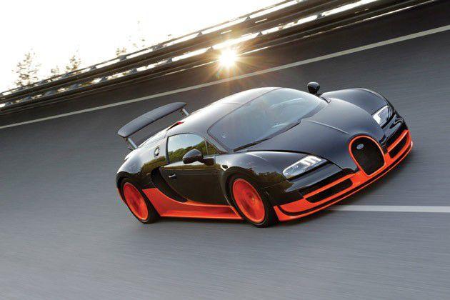 bugati veyron super sport