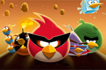 miselne igre Angry Birds Space