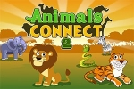 puzzle igre Animals Connect 2