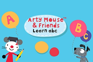 Arty Mouse & Friends: Learn Abc