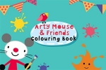 Arty Mouse & Friends: Coloring Book