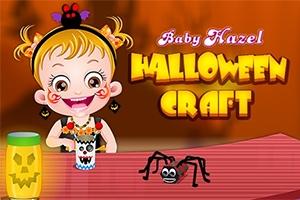 Baby Hazel: Halloween Crafts