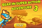 strelske igre Bear In Super Action Adventure 3