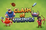 mobilne igre Clash of Vikings