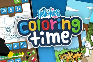 Coloring Time: Animals