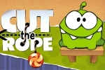 miselne igre Cut the Rope