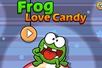 miselne igre Frog Love Candy