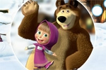 otroške igre Masha and the Bear: Hidden Objects