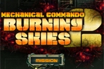 strelske igre Mechanical Commando 2: Burning Skies