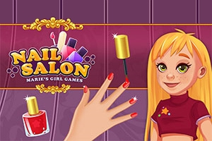 Nail Salon: Marie's Girl Games