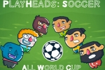 mobilne igre Playheads: Soccer Allworld Cup