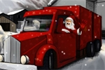 avtomobilske igre Xmas Truck Parking