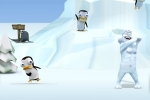 zabavne igre Yeti Sports: Pingu-Throw