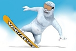 Yeti Sports: Snowboard Freeride