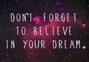 **Believe**
