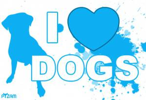 I LOVE dogs?*