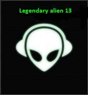 Legendary alien